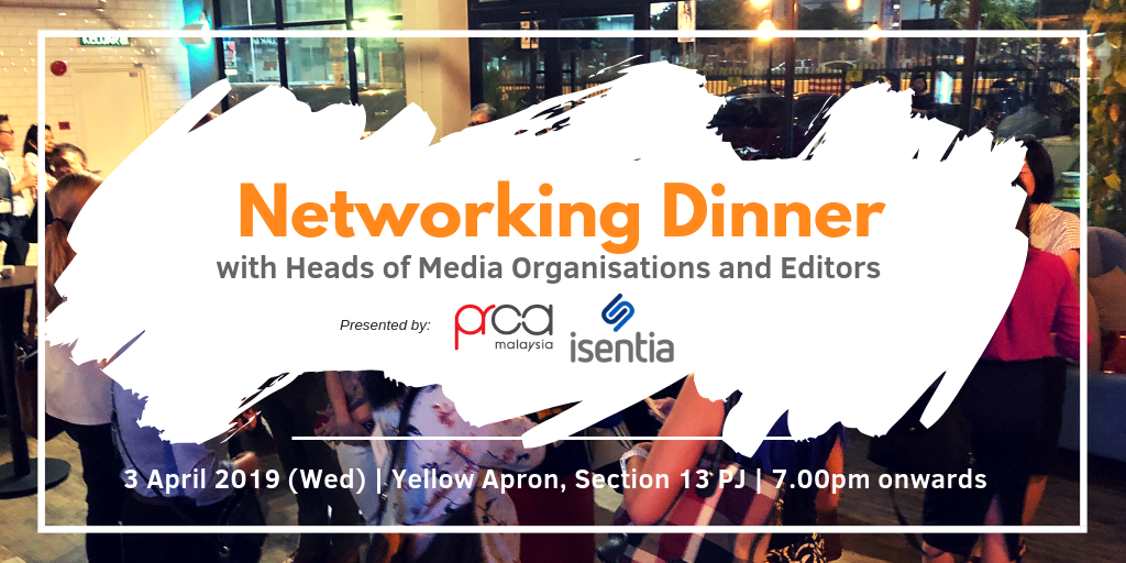 Networking Dinner with Heads of Media Organisations