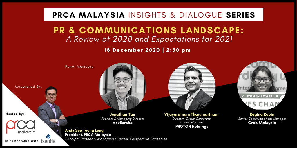 INVITATION TO JOIN PRCA MALAYSIA FIRST-EVER INSIGHTS AND DIALOGUE SERIES