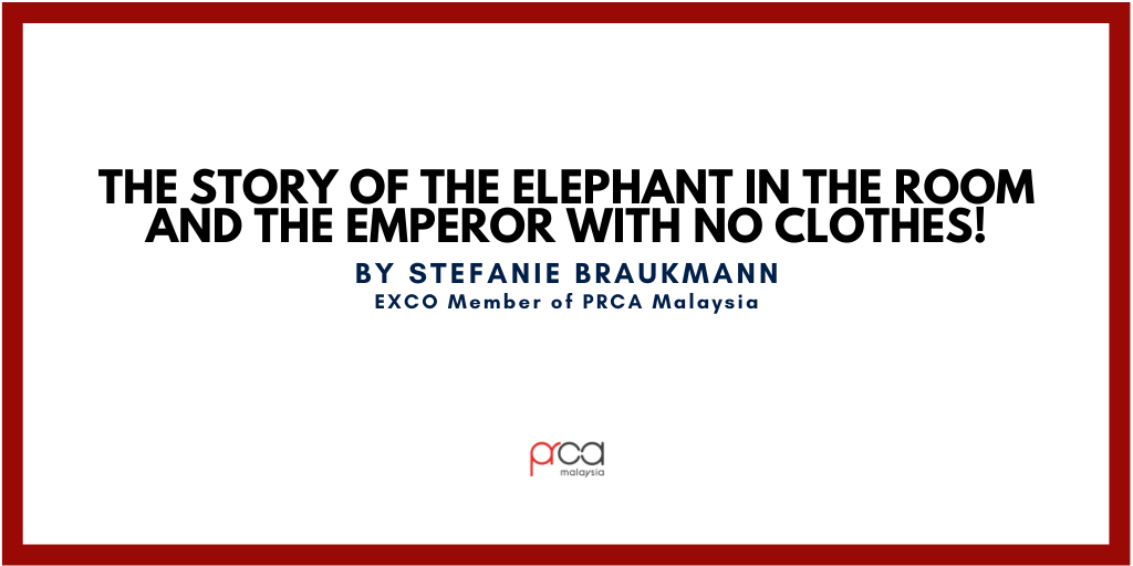 The Story of the Elephant in the Room and the Emperor with No Clothes!