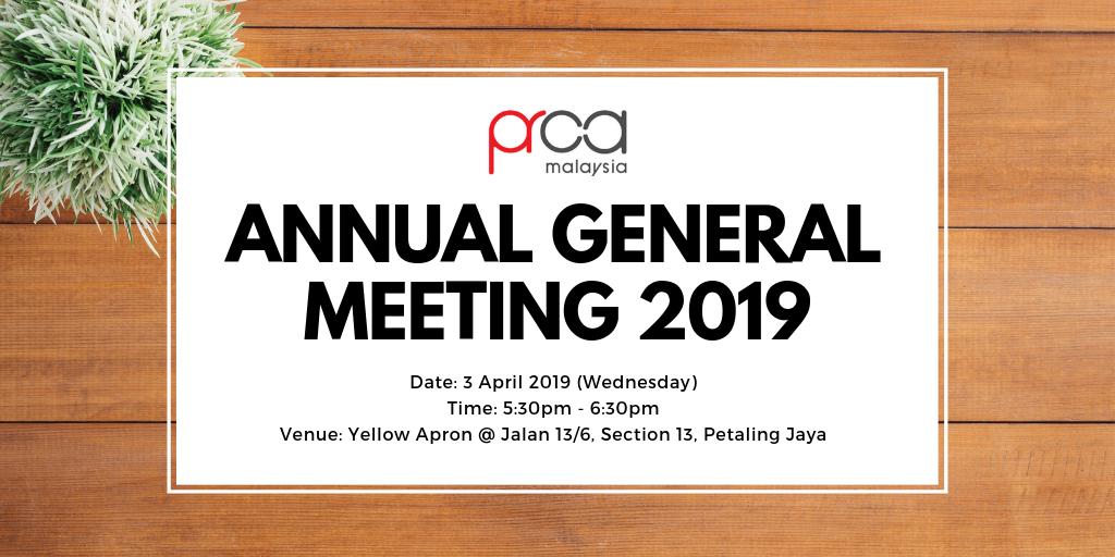 Annual General Meeting 2019