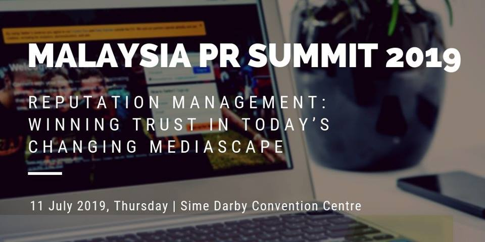 Malaysia PR Summit 2019- Speaker Updates