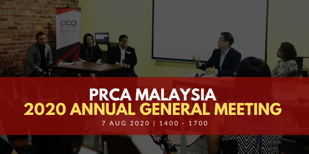 PRCA Malaysia 2020 Annual General Meeting