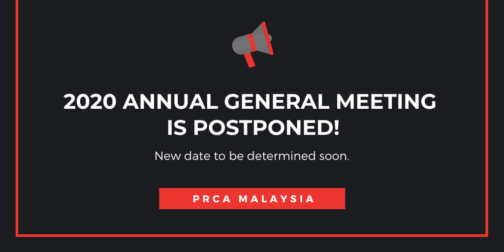Postponement of 2020 AGM