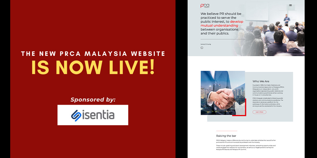 The New PRCA Malaysia website is now live!