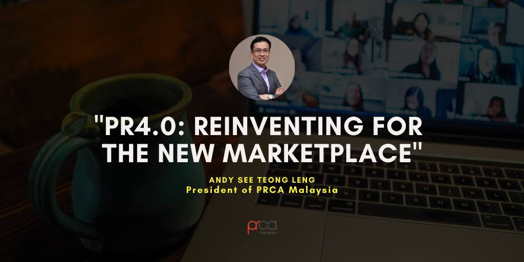 Featured Article for October – PR4.0: Reinventing for the New Marketplace