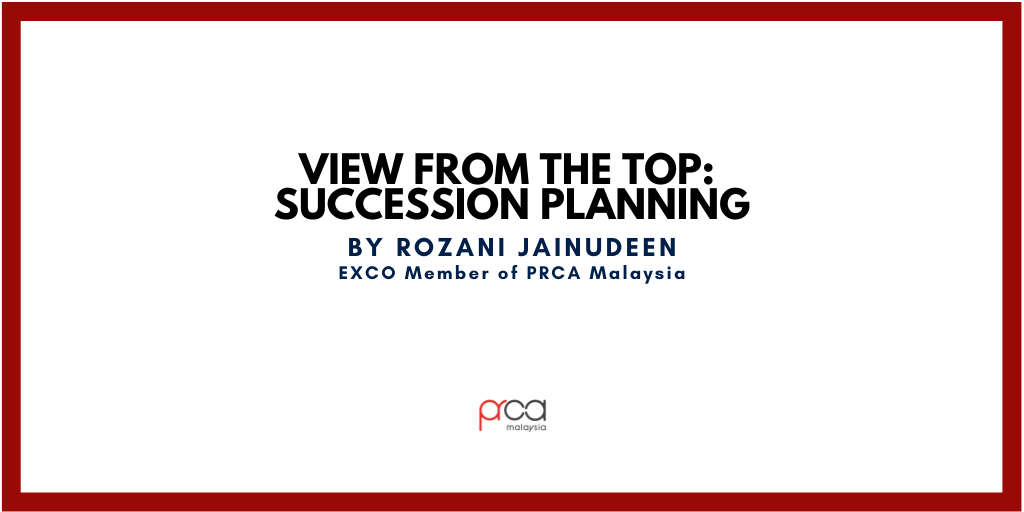 View From The Top: Succession Planning